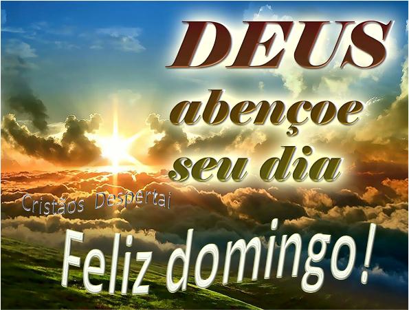 Deus Abencoe Nosso Dia: Um Domingo Abençoado E Na Presença Do Nosso Amado Senhor E
