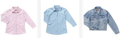 Camisas y cazadora para niño en oferta
