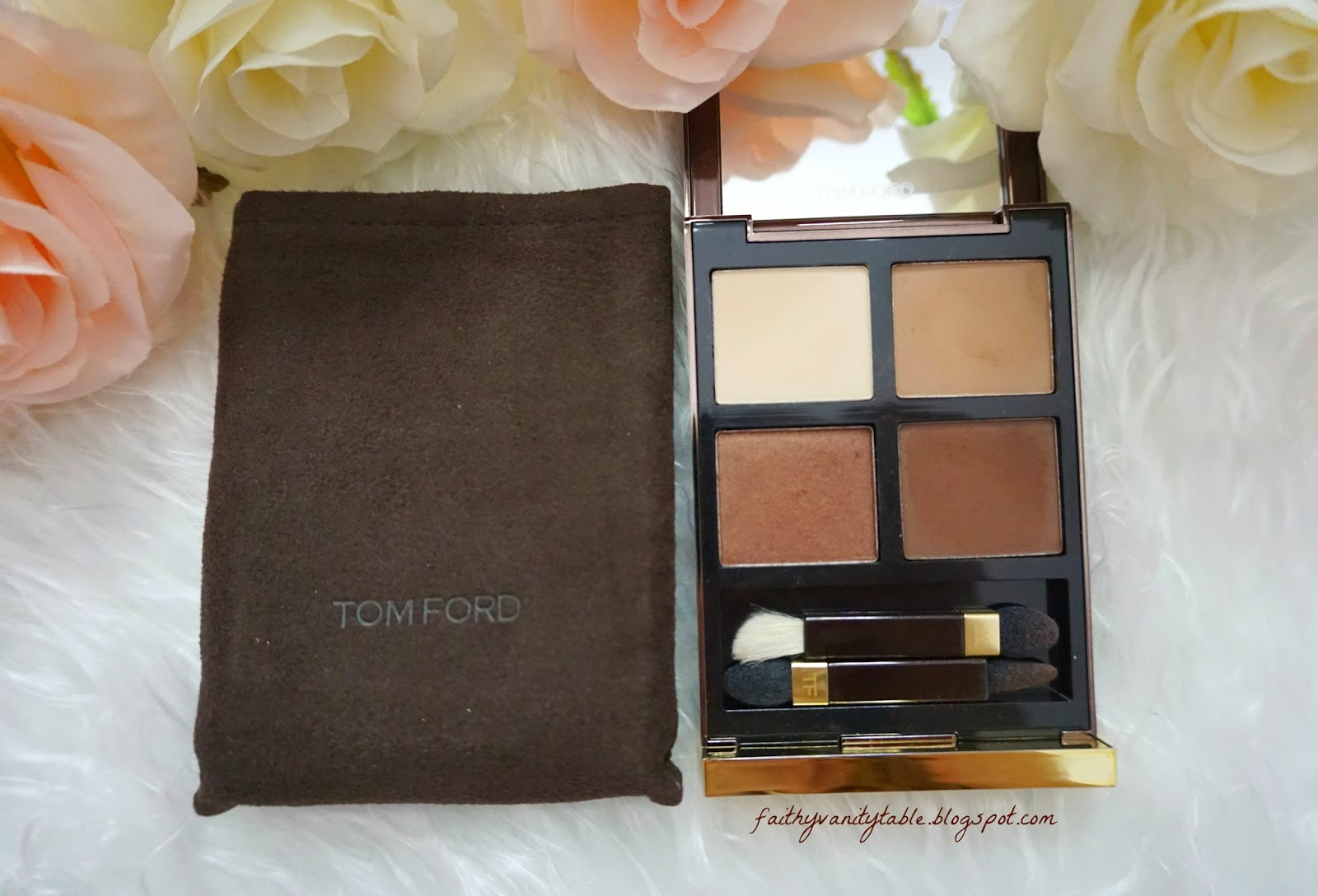 Review of Tom Ford Eyeshadow Quad, Cocoa Mirage