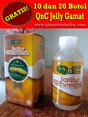 Cara Mendapatkan QnC Jelly Gamat Secara Cuma-Cuma (GRATIS)