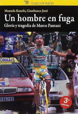 Regalos originales para ciclistas: Un hombre en fuga Pantani libro