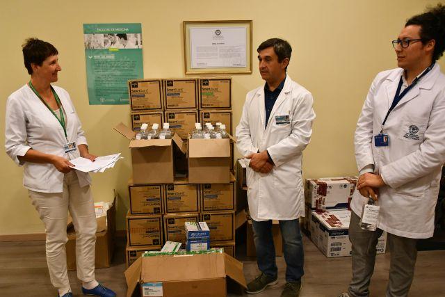 Hospital de Puerto Montt recibe donación de insumos médicos