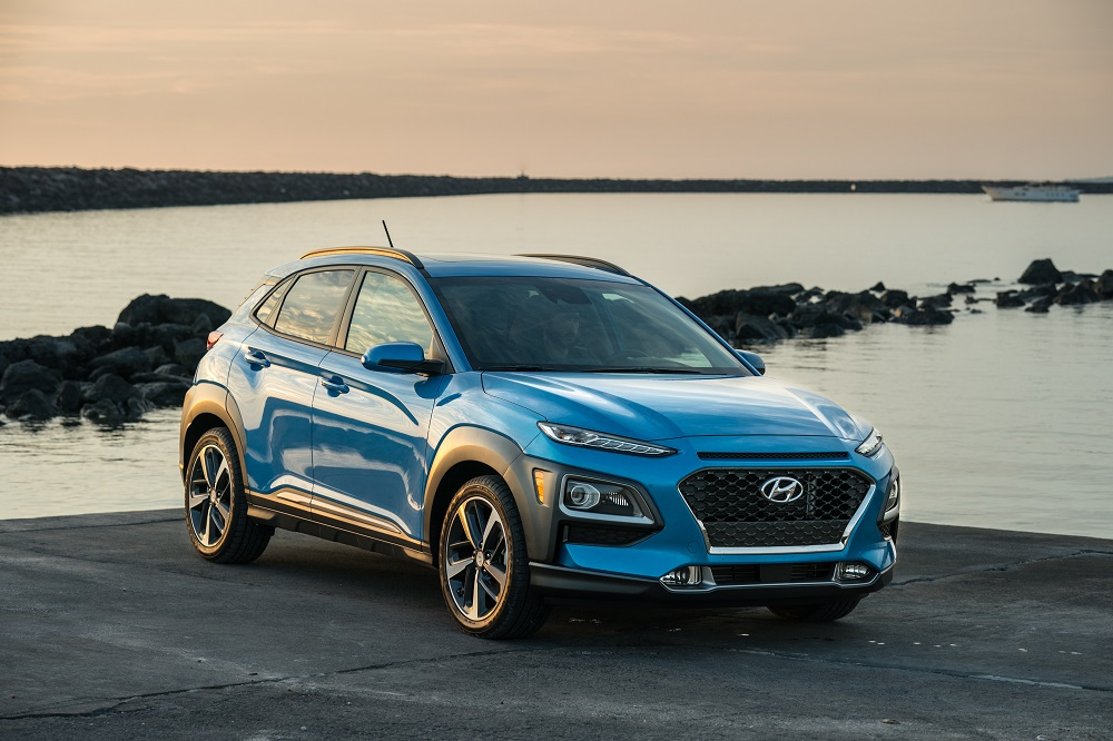 2018 Hyundai Kona earns a Top Safety Pick+ rating from IIHS
