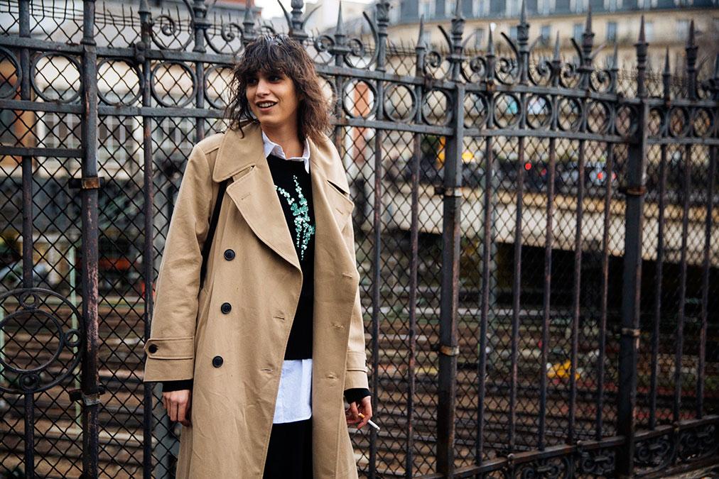 Street Style: Mica Arganaraz's Deconstructed Look