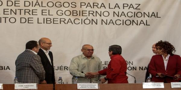 Ecuador ratifica su compromiso con diálogos de paz en Colombia