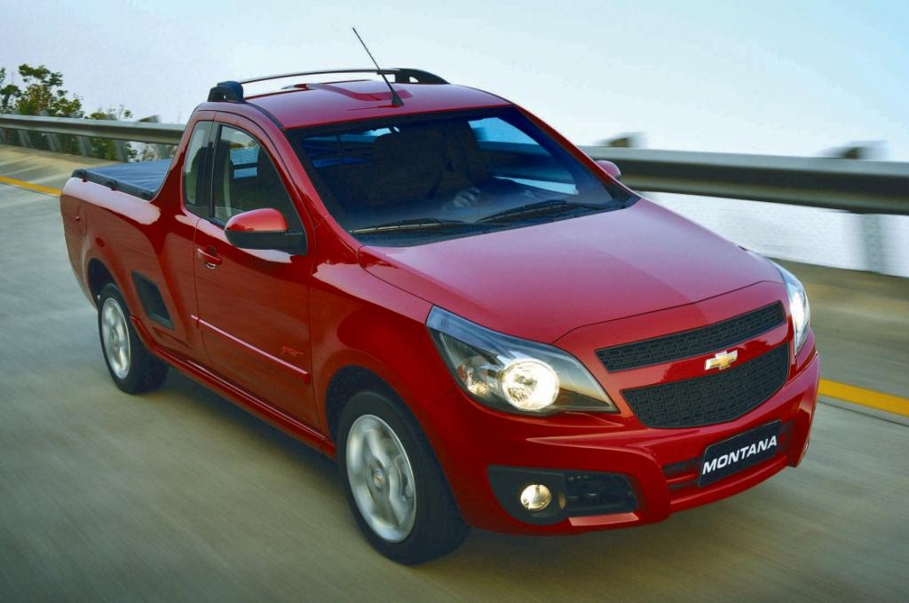 Lanzamiento: Chevrolet Montana : Autoblog Uruguay ...