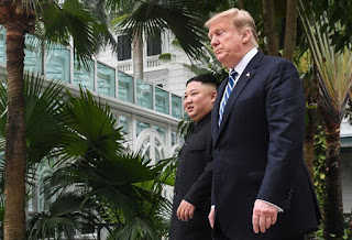 """Kim, for his part, when asked whether he was ready to denuclearize, said """"If I'm not willing to do that I won't be here right now."""""""