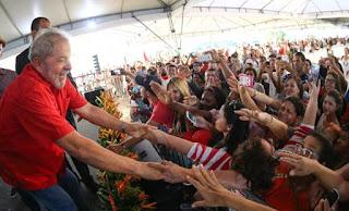 Em Recife, Lula encerra caravana da Frente Brasil Popular; Picuienses estiveram lá