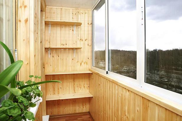 Балкон из вагонки пошаговое фото