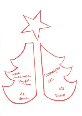 Como fazer árvore de natal em feltro