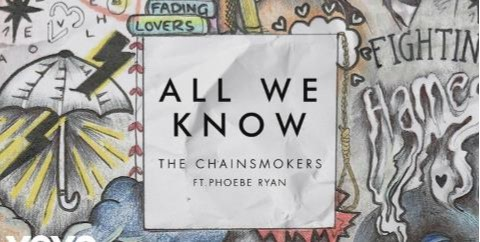 Lirik Lagu All We Know - The Chainsmokers dan Terjemahan