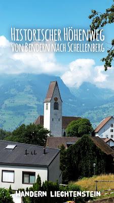 Historischer Höhenweg von Bendern nach Schellenberg | Wandern Liechtenstein | Wanderung Fürstentum-Liechtenstein