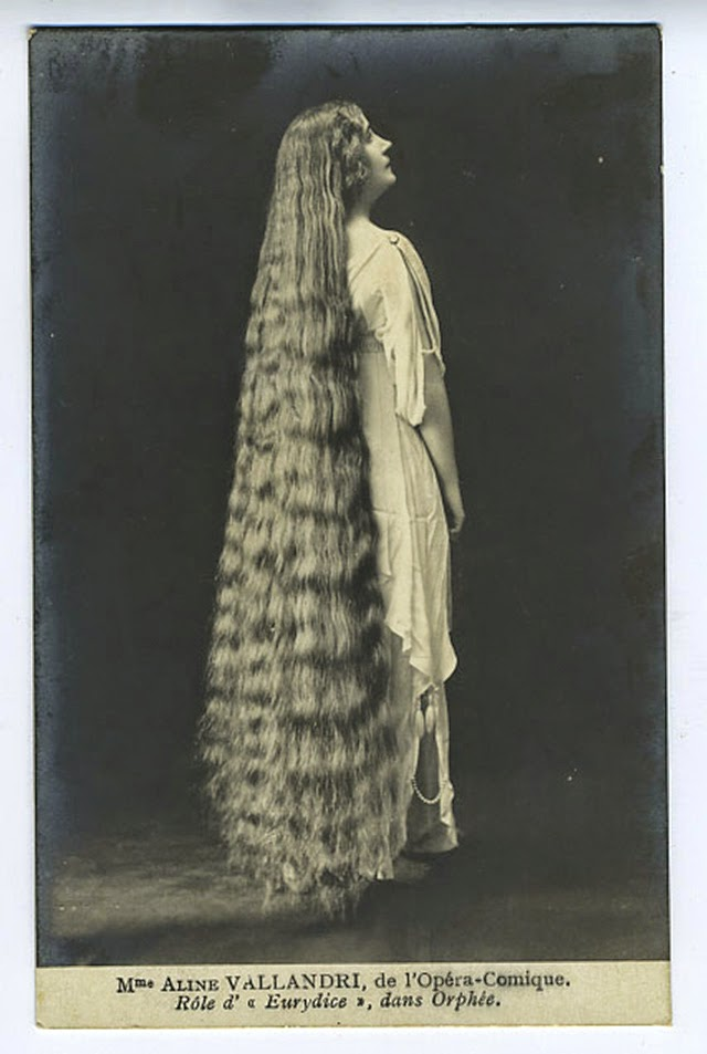 17 Interesting Vintage Portraits Of Long Hair Victorian