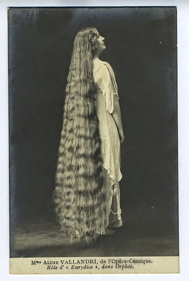 17 Interesting Vintage Portraits of Long Hair Victorian ...