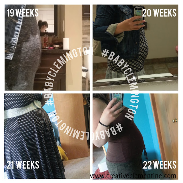 #BabyClemington Pregnancy Update: 23 weeks down, 17 to go.