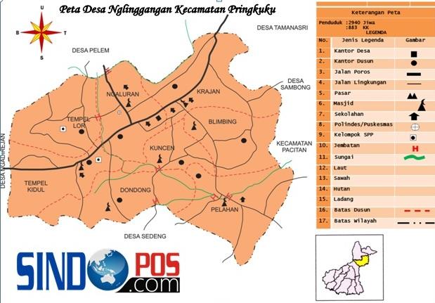 Profil Desa & Kelurahan, Desa Glinggangan Kecamatan Pringkuku Kabupaten Pacitan