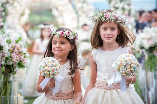 roupas de casamento para criança