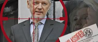 WikiLeaks indica que Hillary Clinton queria matar Assange com drone