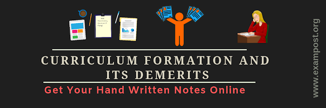 curriculum-formation-and-its-demerits