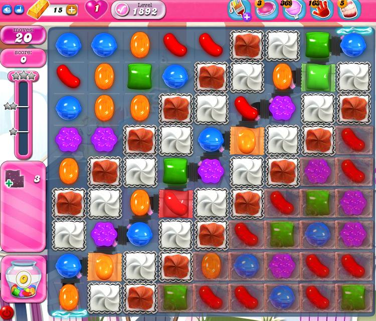 Candy Crush Saga 1892