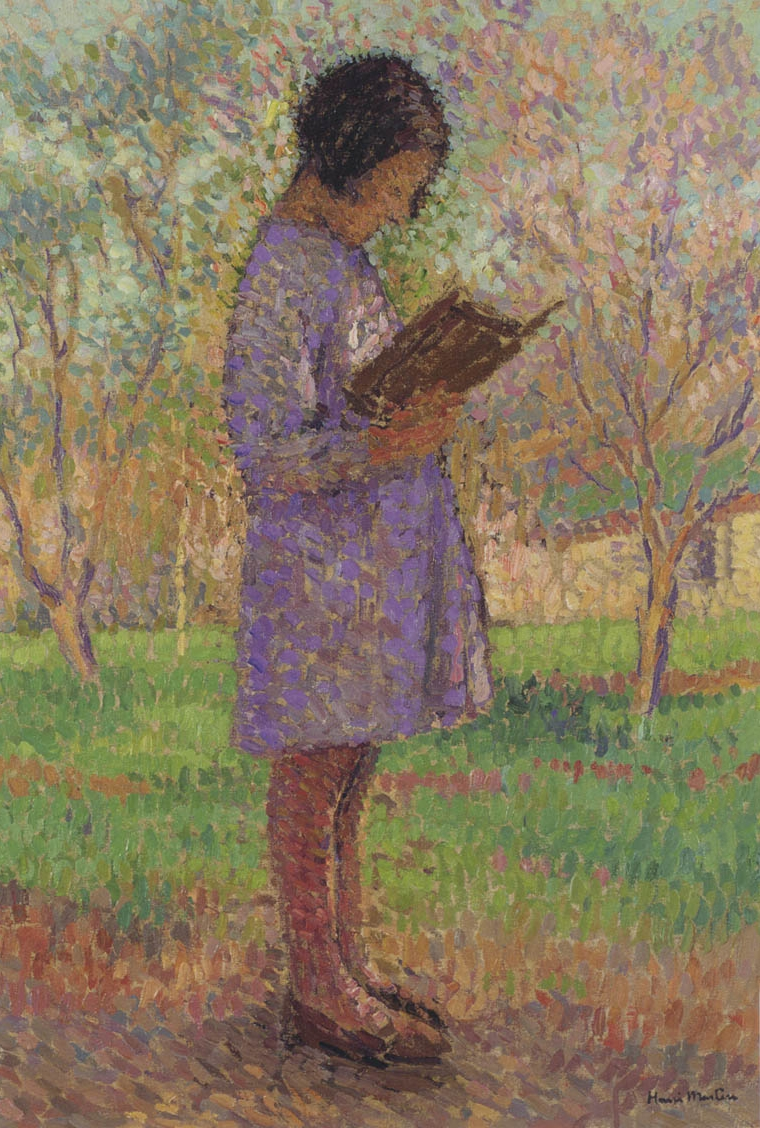 Pittura Parietale Egizia Henri Martin Post Impressionist Painter Tutt Art Pittura