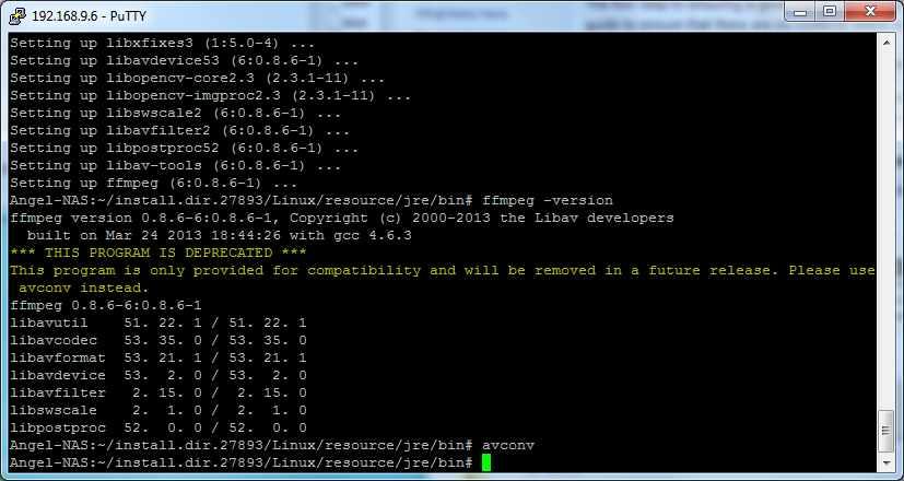Daemon script for serviio media server