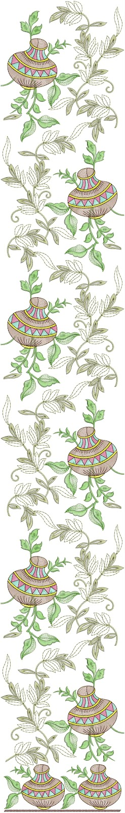 Embdesigntube Indian Culture Figure Embroidery Designs Download