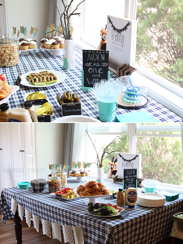 ONE And WILD Birthday Party // Handmade Frenzy