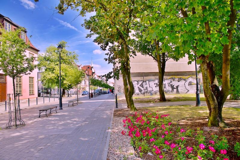 Ulica Wajdeloty Gdańsk Wrzeszcz co zobaczyć
