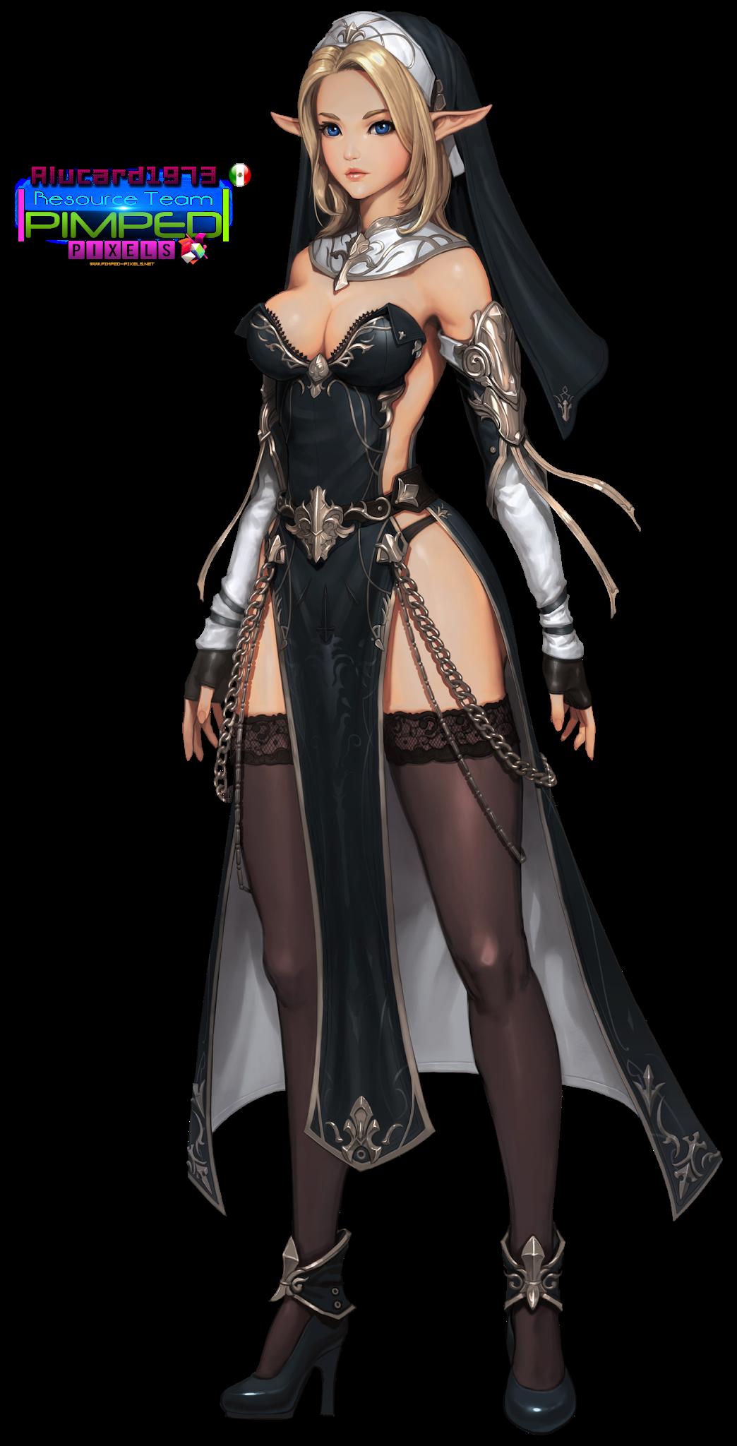 png Gae Go - Sorceress 01