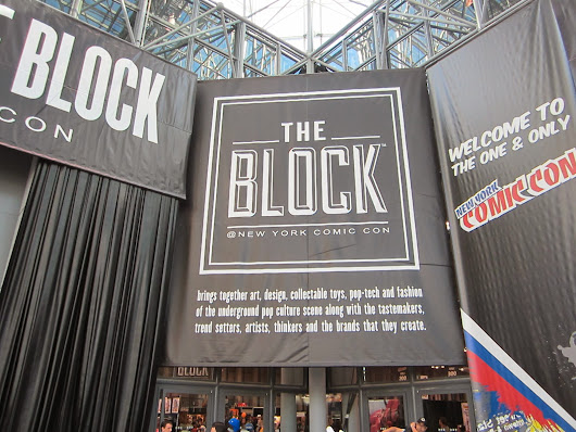 The Block at New York Comic Con