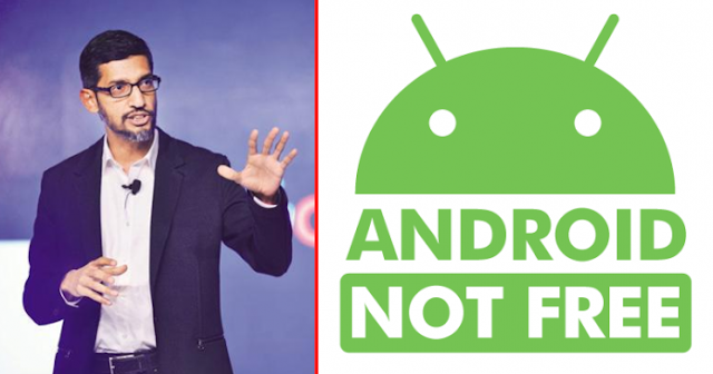 OMG !! Android Is No Longer Free