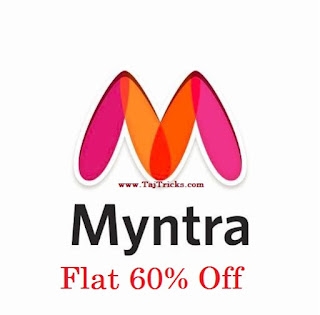 Myntra - Upto 60% Off Sale on Clothing and accessories