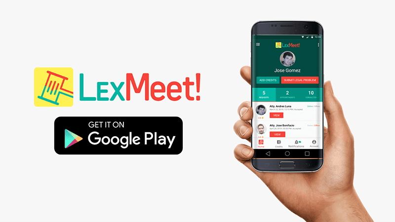 LexMeet is currently available for Android and soon for iOS
