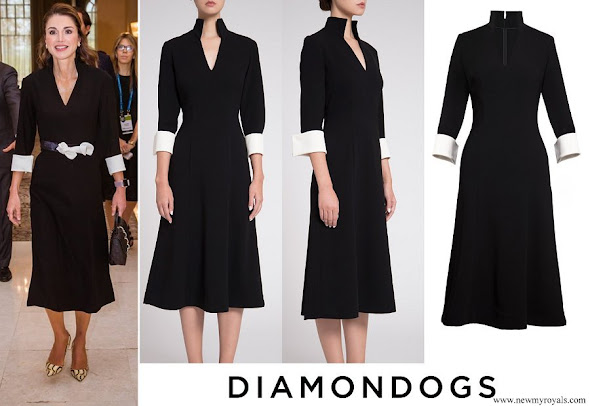 Queen Rania wore Diamondogs Tilda dress