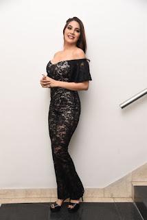 Nikki Tamboli At Chikati Gadilo Chithakotudu Pre Release Event