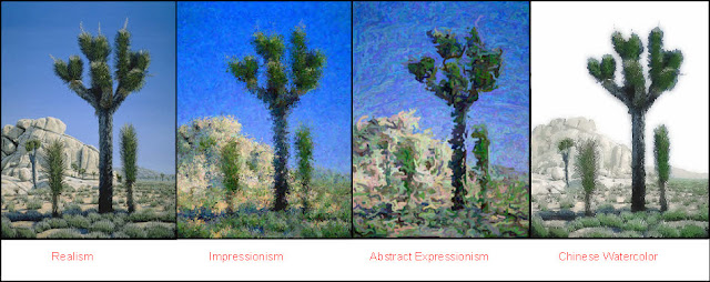 Joshua Tree,National Park,realism,impressionism,abstract,expressionism,traditional chinese watercolor