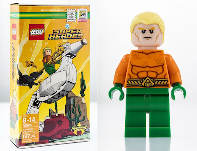 San Diego Comic-Con 2018 Exclusive DC Comics Super Heroes Aquaman LEGO Set