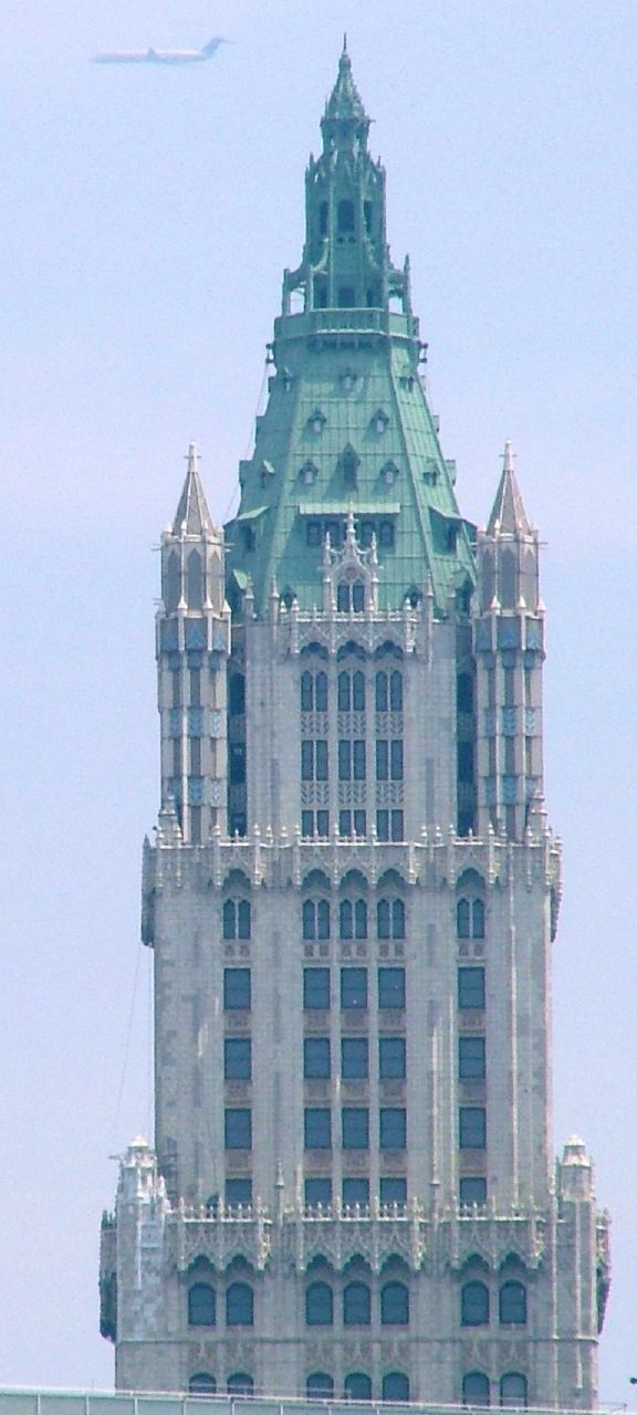 New York History Geschichte Top Of The Woolworth Tower