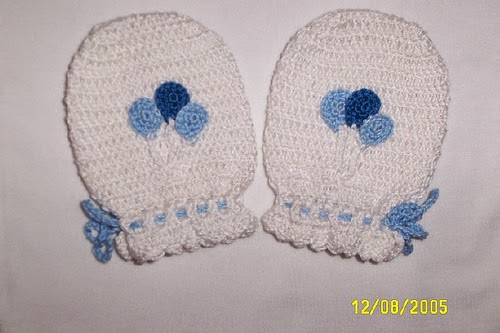 Crochet And Other Stuff Baby Mittens Free Pattern