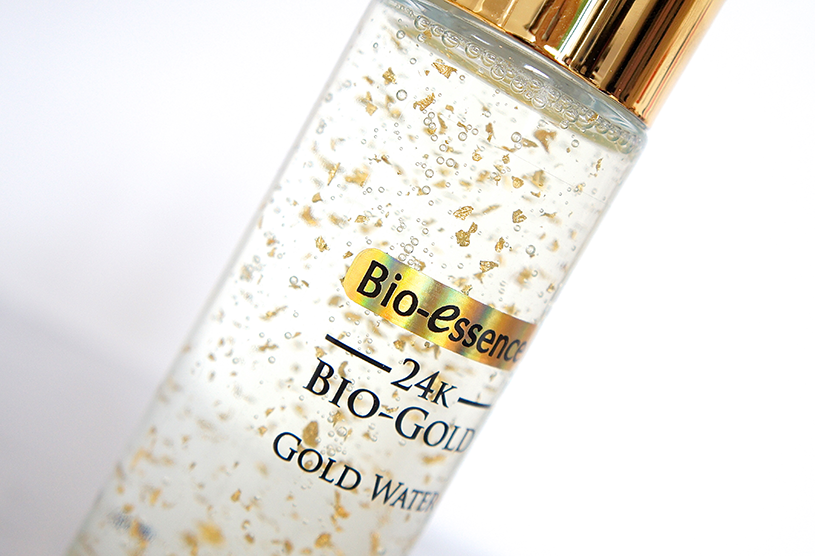 Bio Essence 24K Gold Water Review and Ingredients