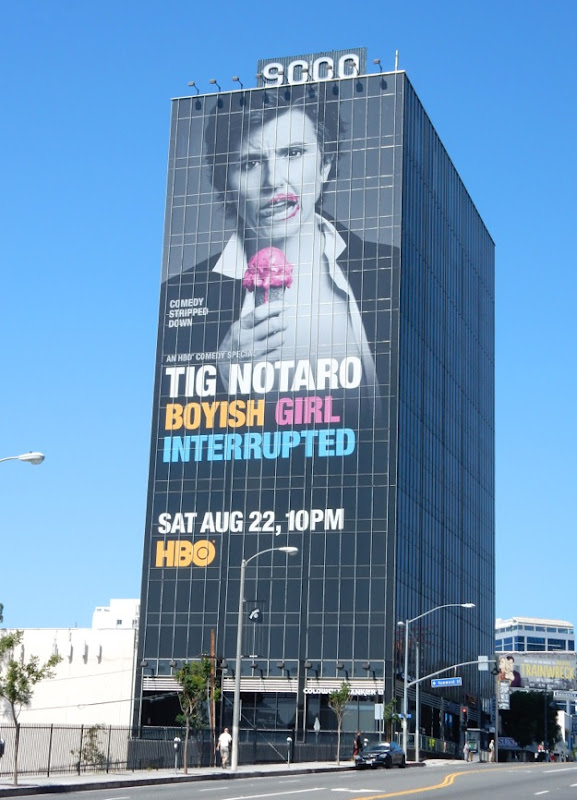 Giant Tig Notaro Boyish Girl Interrupted billboard