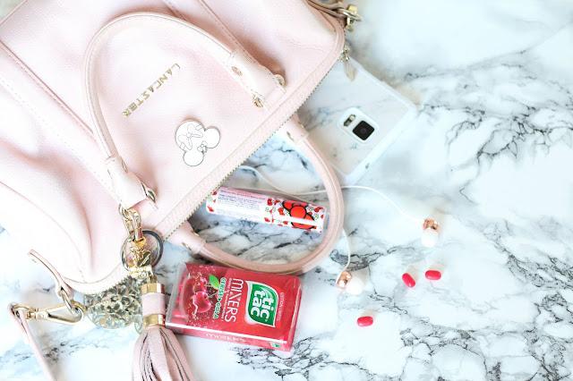 Sac Lancaster Rose Pastel Pins Disney Tic Tac Note 4 Samsung Ecouteurs Sudio Sweden Blanc Rose Gold