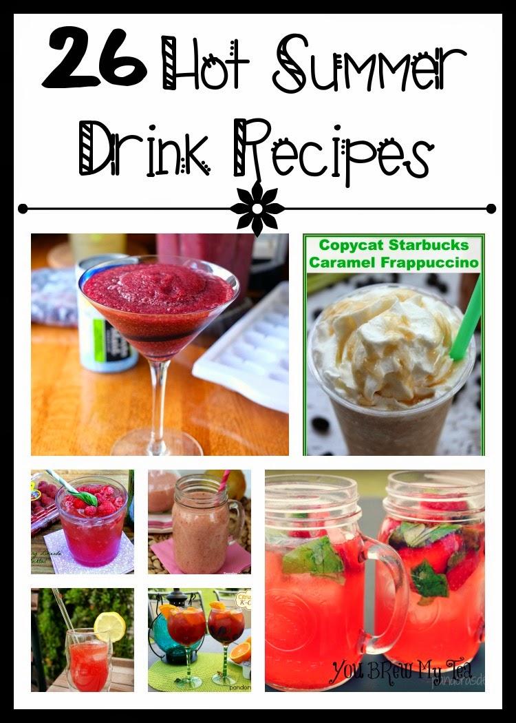 26 Hot Summer Drink Recipes