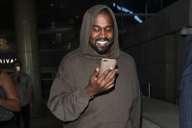 Kanye West usa Instagram por primera vez.