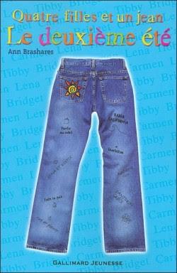 Quatre filles et un jean : le deuxieme été d'Ann Brashares