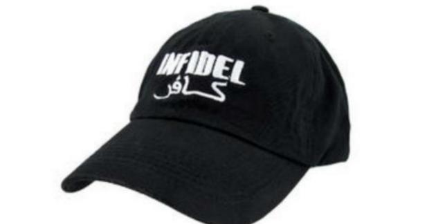 Topi Bertuliskan Kafir