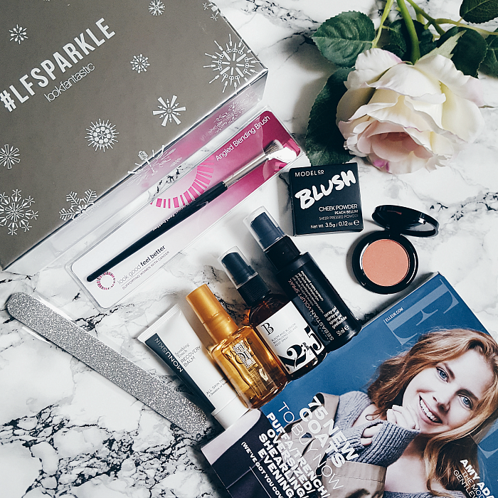 lookfantastic #LFsparkle Beauty Box November - Unboxing