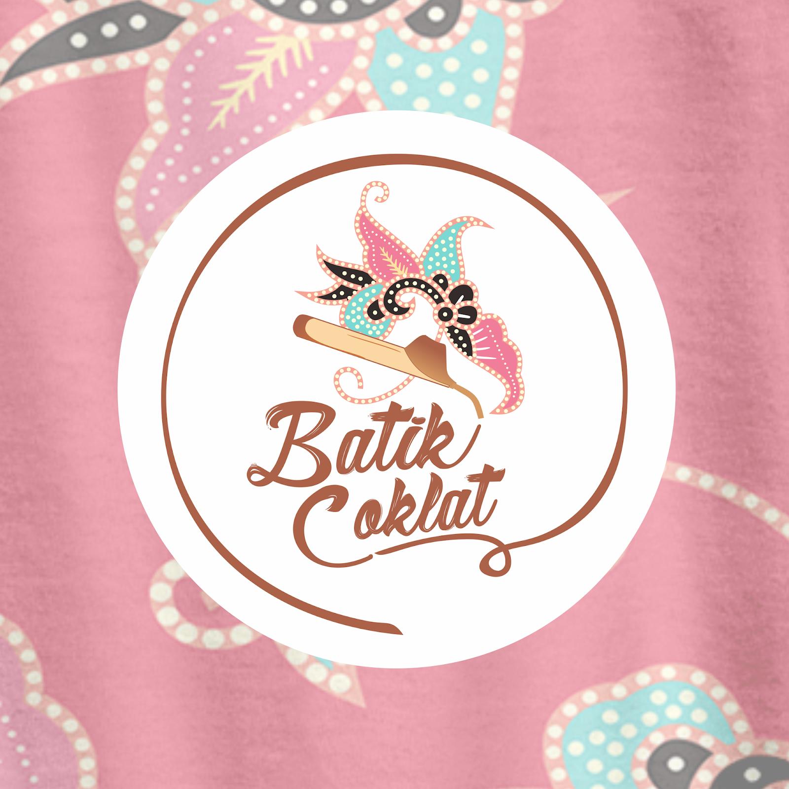 Desain Kemasancoreldraw:  Desain Logo Usaha Fashion Batik Coklat Kebun Design Branding