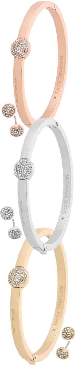 Michael Kors Brilliance Crystal Bangle Bracelet & Stud Earrings Gift Sets (sold separately)